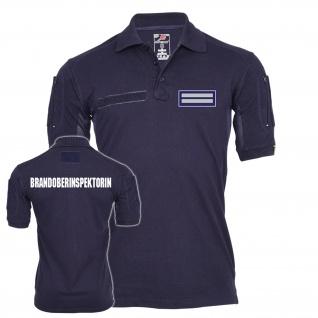 Tactical Polo Brandoberinspektorin Feuerwehr AtemschutzArbeitskleidung #23536