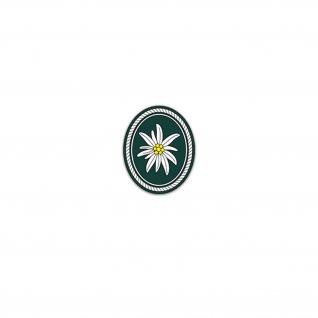 Aufkleber/Sticker 1 Gebirgsdivision Bundeswehr Heer Heer Militär 6x7cm A3098