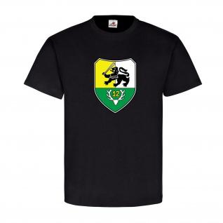 PzGrenBtl 12 Panzergrenadierbataillon Wappen Bundeswehr - T Shirt #12582