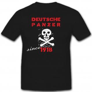 Deutsche Panzer WH Einheit Schild Militär Heer Tiger 1918 - T Shirt #2000