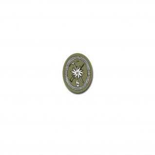 Gebirgsjäger Aufkleber Heer Soldaten Einheit Militär Wappen 5x7cm#A4050