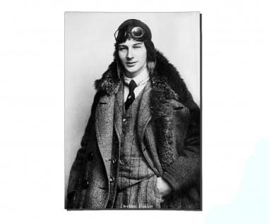Poster Anthony Fokker Portrait Flugzeughersteller Spinne Jagd ab 30x21cm #31108