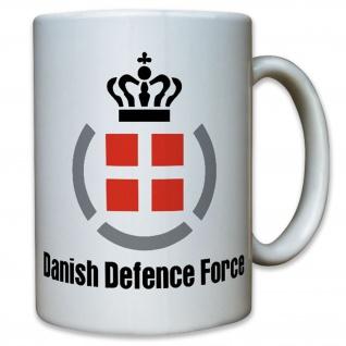 Danish Defence Force Dänemark Forsvaret Militär Wappen Abzeichen - Tasse #12437