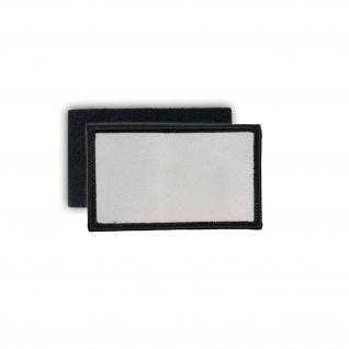 Patch Rechteck Aufnäher Sublimationsdruck Klett Flausch Wappen 7, 5x4, 5cm #25690