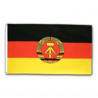 DDR Fahne Deutschen Demokratischen Republik Flagge #24895