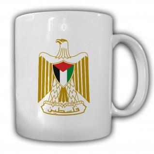 Staat Palästina Wappen Emblem Kaffee Becher Tasse #13850