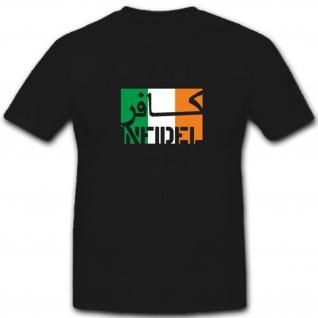 Irland Infidel ungläubiger ISAF Anti Terror Kämpfer- T Shirt #7585