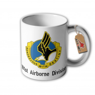 Tasse Screaming Eagles 101st Airborne Division Operation Overlord Garden #32360
