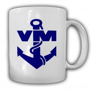 Volksmarine VM NVA DDR Nationale Volksarmee Seestreitkräfte - Tasse #13138