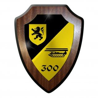 Wappenschild / Wandschild -PzPiKp300 Panzerpionier Kompanie 300Pios #9635