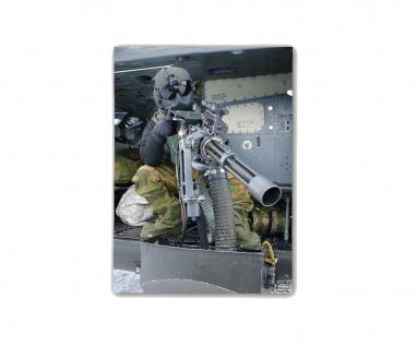Poster M&N Pictures Norway Doorgunner Hubschrauber Minigun MG ab30x20cm#30245