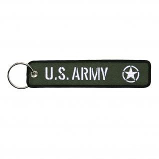Schlüsselanhänger US Army USA allied star Stern WWII WW2 drab Amerika#36640