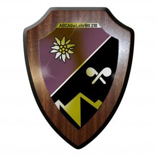 Wappenschild -ABCAbwLehrBtl 210 Bundeswehr Militär Deutschland Abzeichen #12766