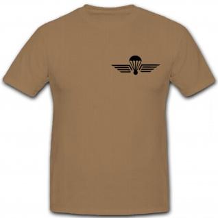 Schweizer Fallschirmspringer Abzeichen Para Wings Armee - T Shirt #12657