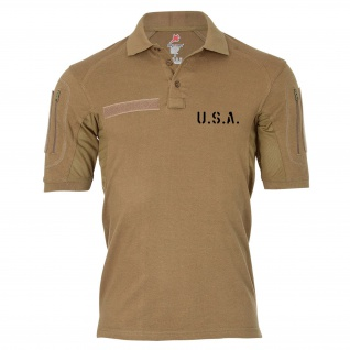 Tactical Poloshirt Alfa - USA United States of America Dienst Polo Shirt #19084