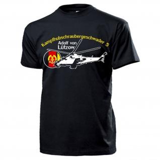 KHG-5 Adolf von Lützow Kampfhubschraubergeschwader 5 DDR NVA T Shirt #17430