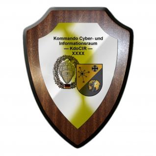 KdoCIR Kommando Cyber und Informationsraum Bundeswehr Militär Wandschild #27293