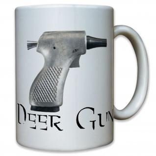 Deer Gun Partisanen Pistole Vietnam Krieg USA US Army Tasse Becher Kaffee #12185