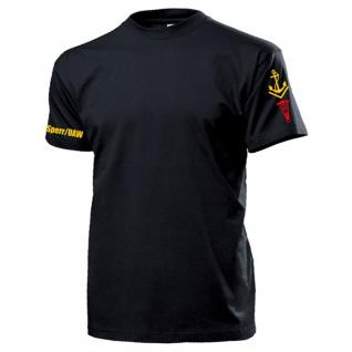 Sperr UAW Obermaat NVA DDR Laufbahnabzeichen Ärmel Volksmarine T Shirt #17492
