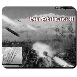 15cm Nebelwerfer 41 Raketenwerfer WK 2 Foto- Mauspad Mousepad Laptop PC #10217