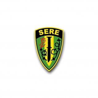 Aufkleber/Sticker SERE Training Survival Streitkräfte USA Überleben 7x5cm A1523