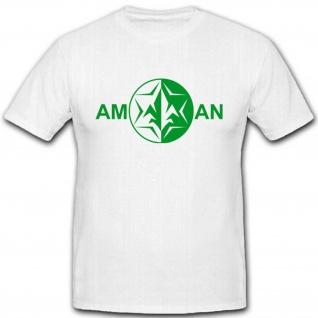 Aman Israel Militär Logo Abzeichen Wappen Emblem Einheit - T Shirt #2971