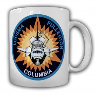 STS-3 Space Shuttle Mission Columbia Militär Kaffee Tasse #27618