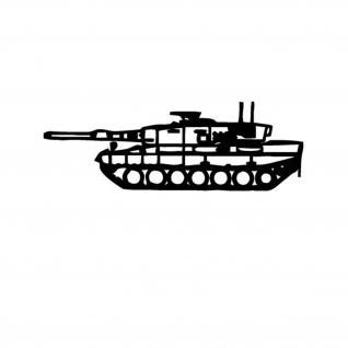 Aufkleber/Sticker Leo 2A4 Leopard Panzer Bundeswehr Kampfpanzer 15x5cm A613