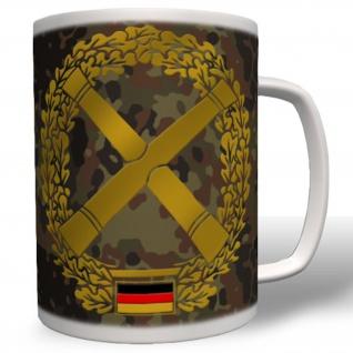 Barettabzeichen Ausbildung Wappen Emblem Einheit Truppe PzArt - Tasse #1966