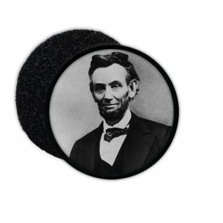 Patch Abraham Lincoln USA 16 Präsident der Vereinigten Staaten Amerika #32925