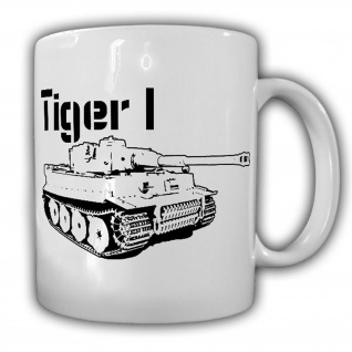 Tiger 1 Panzer Panzerkampfwagen VI Deutschland WW - Tasse #13251