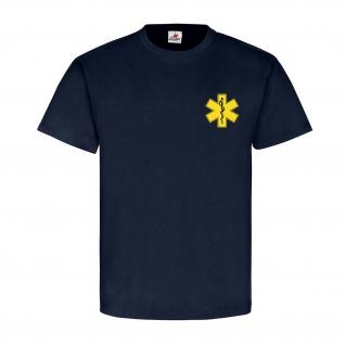 MEDICAL SERVICE Notarzt Ersthelfer Rettungsdienst Feuerwehr - T Shirt #14059