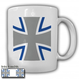 Bundeswehr Kreuz_BW Wappen Eiserens Kreuz Logo Abzeichen Emblem - Tasse #13411