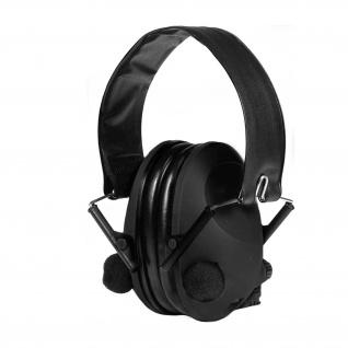 Elektronischer Gehörschutz Ear Defender Ohrmuschel mit Kopfbügel Schutz #35457