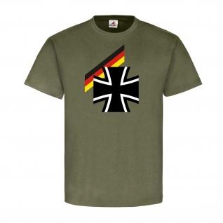 Bundes Heer BW Bundeswehr Militär Soldaten Flagge Deutschland BRD T-Shirt #23941