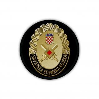 Patch / Aufnäher - Kroatisches Heer HKoV Hrvatska kopnena vojska Wappen #19234