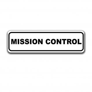 Magnetschild Mission Control Missionskontrollzentrum Flugkontrollzentren #A5049