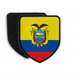 Patch Landespatch Ecuador Adler Stolz Heimat Aufnäher Wappen Zeichen #21936