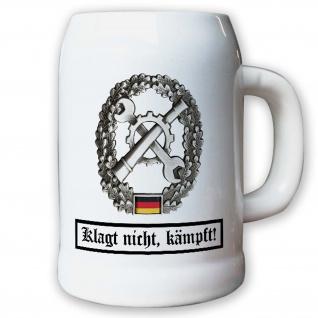 Krug / Bierkrug 0, 5l - Barettabezeichen Instandsetzung Inst #10918
