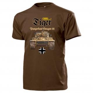 Panzerkampfwagen VI Sonderkraftfahrzeug Tiger Panzer Wh - T Shirt #13815