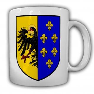 Heiliges Römisches Reich Holy Roman Empire Deutschland Army Kaffee Tasse #27543