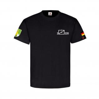 2 EloKa 220 FmBtl 220 Wappen Abzeichen Emblem Fernmelde Bataillon T Shirt #31980