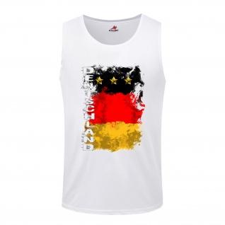 Germany Germania German Deutschland BRD Fahne Flagge Flag - Tanktop / #5276