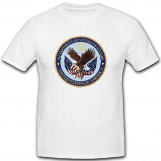 Us Department Veterans Affairs Military Armee Amerika Wappen - T Shirt #2818