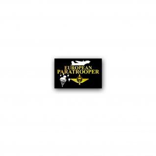 Aufkleber/Sticker European Paratroopers 2 Fallschirmsprungverband 11x7cm A3513