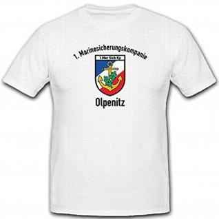 1 Mar Sich Kp Olpenitz Marinesicherungskompanie Bundeswehr - T Shirt #12594
