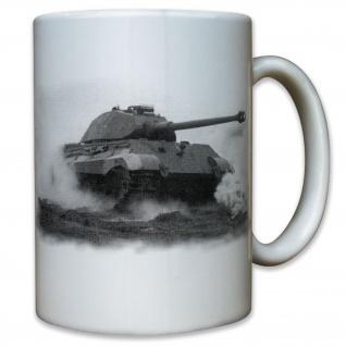 Königstiger Tiger 2 Panzer Panzerkampfwagen IV Normandie Ardennen - Tasse #9136