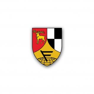 Aufkleber/Sticker Führungsunterstützungsbataillon 291 FüUstgBtl 5x7cm A2129