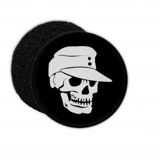 Patch 2 Infanterie Totenschädel Heer Feldmütze Skull Schädel Aufnäher #23610