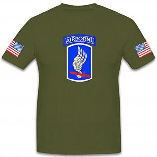173rd Airborne Brigade Combat Team-Amerika US Army Fallschirmjäger T Shirt #9159